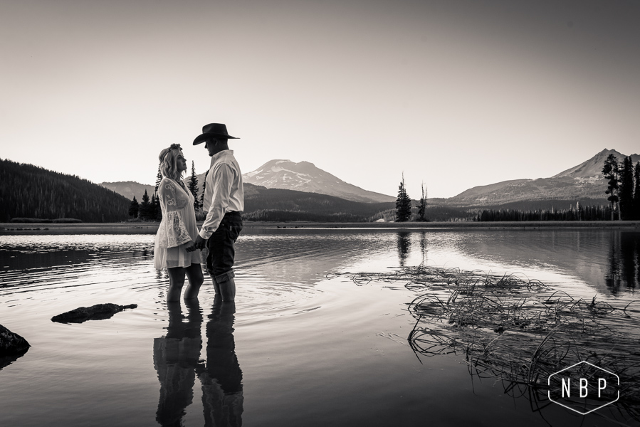 Heather & Ty Adventure Shoot – Sparks Lake, Bend, Oregon