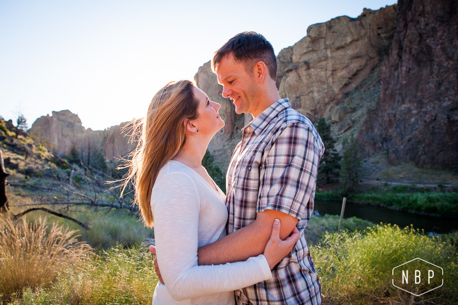 Kristin & Derek Engagement – Smith Rock, Central Oregon