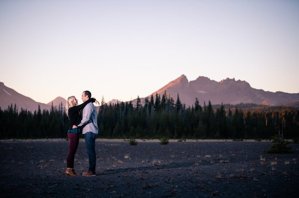 Michelle & Nick - Bend, Oregon - Engagement