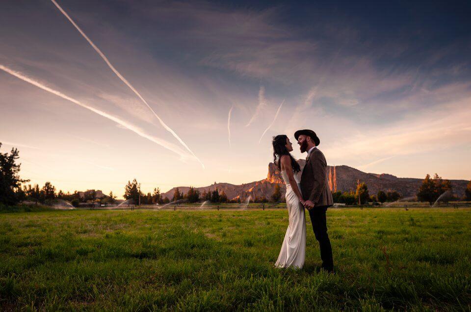 Jessica & David - Wedding-DD Ranch & Smith Rock - Oregon